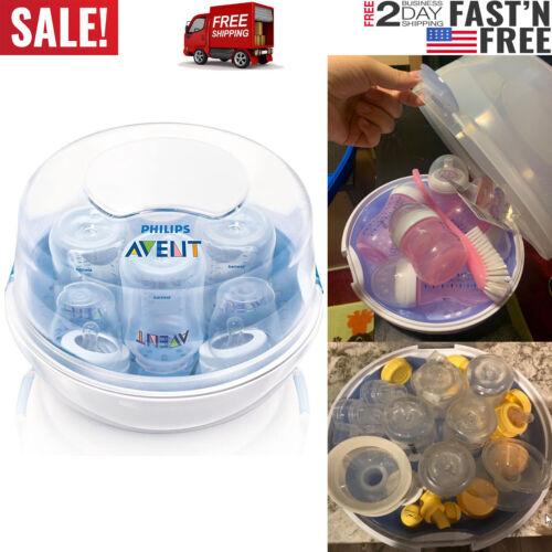 Philips AVENT Esterilizador de Vapor de Microondas de Botella Biberones de Bebé