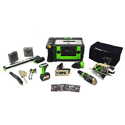 CEL POWER8 workshop Lithium 18V Cordless Workshop WS3E Power 8 full kit