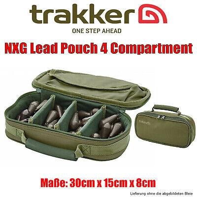 Trakker NXG Lead Pouch 4 Compartment - Bleitasche Zubehörtasche 30 x 15 x 8cm