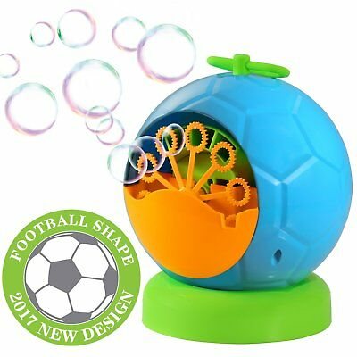 Outdoor Auto Bubble Maker Machine Children Kids Party Blower Toy Gift For Boys