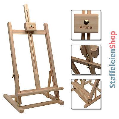 Tischstaffelei Staffelei Kiefer Holzstaffelei Studiostaffelei Holz Aufsteller