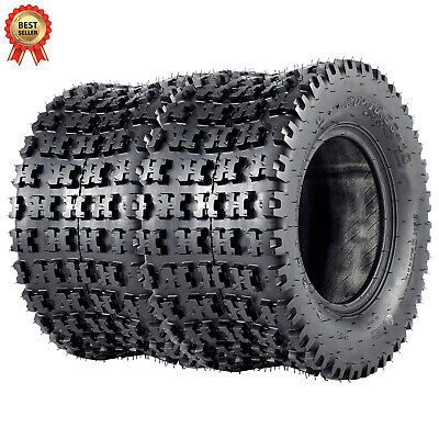 VANACC ATV Sport Quad Tires 20x10-10 20x10x10 All Terrain AT Tire 4 PLY Set of 2