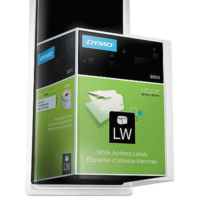 Dymo Labelwriter Address Labels 1 18 X 3 12 White 260 Labelsroll 2 Rollspack