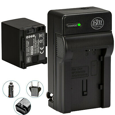 BM BP-820 Battery & Charger for Canon Vixia XA15 XA20 XA25 XA30 XA35 XF400 XF405