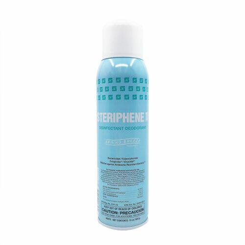 **Case of 12** Spartan Steriphene II Disinfectant Deodorant Spray, 15 oz