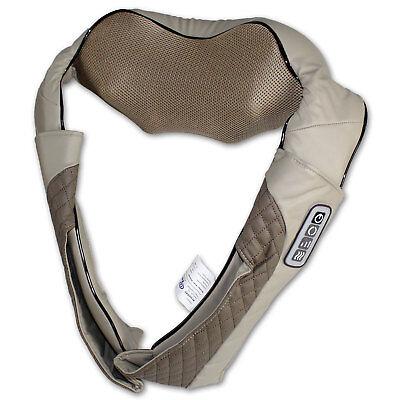 Shiatsu Nackenmassagegerät Rückenmassage Schulter Nacken Massage Infrarot Wärme
