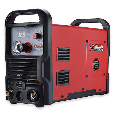 50 Amp Air Plasma Cutter, 110V & 230V Dual Voltage Cutting Machine, CUT-50