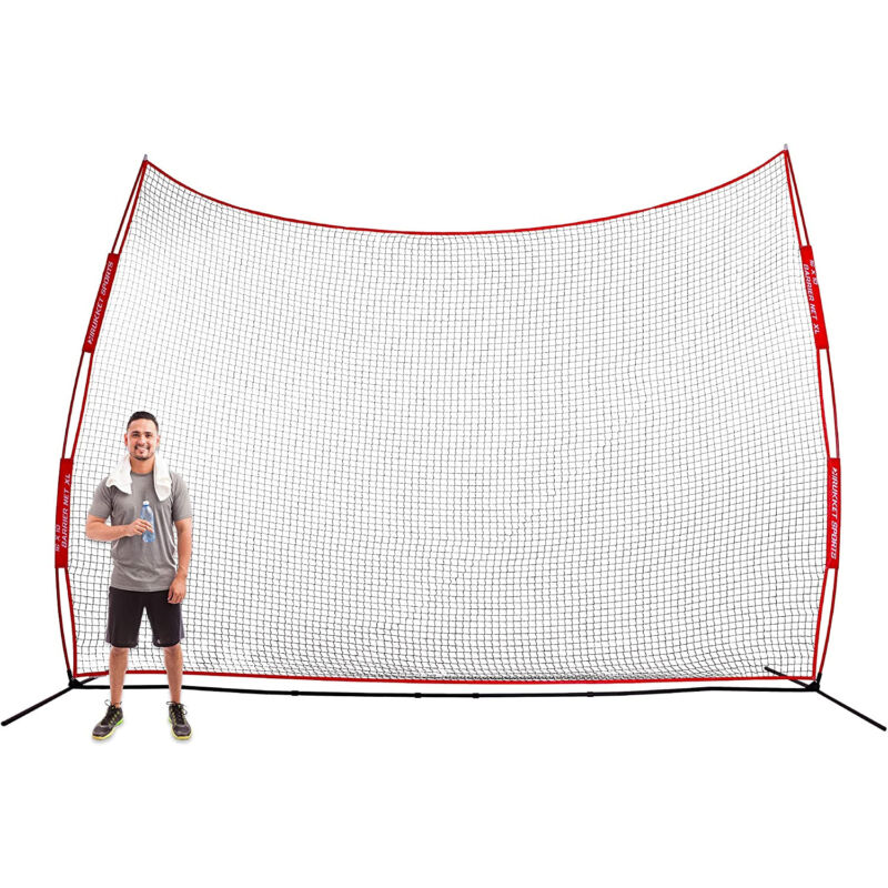 Rukket Sports Universal Multi-Sport Barrier Backstop Net, XL, 16 x 10 Feet