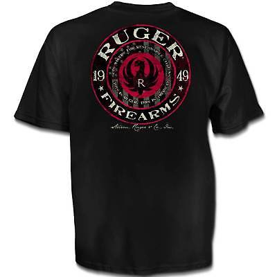 Ruger American Circle 1949 Mens T Shirt  Sizes M   Xl New  Licensed Firearms