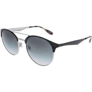 bf78105210a Ray-Ban Unisex Rb3545 900411 Round Grey Gradient 54 Mm Black Metal  Sunglasses