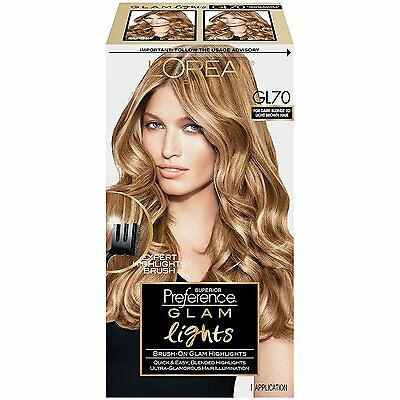 Loreal Superior Preference Glam Highlights  Gl70 Dark Blonde To Light Brown