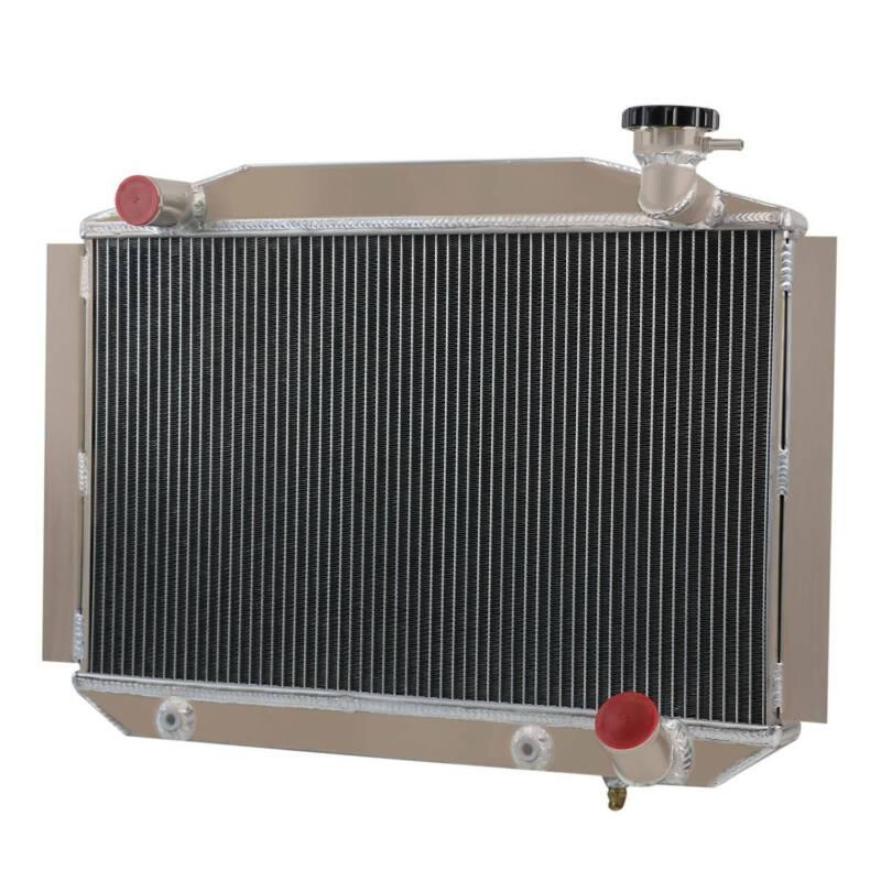 UP TO 700HP CHEVY CORVETTE 350 V8 A//T 1955-1960 ALUMINUM RADIATOR 2 ROW 56MM