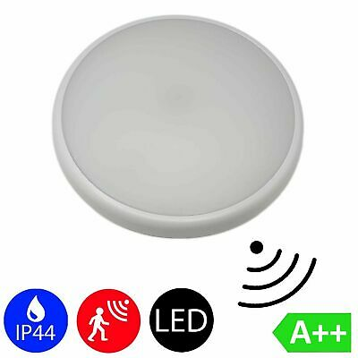LED Downlight Surface Mounted Light 16W IP44 Radar Motion Sensor Slim Bathroom