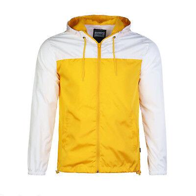 Beautiful Giant Men's Hood Outwear Cycling Windbreaker Jacket Yellow / White (Jacket Hood Men)