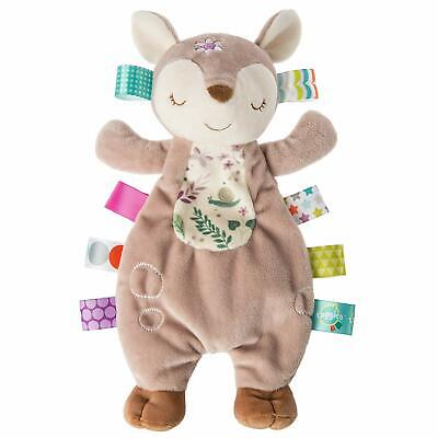 Mary Meyer Taggies Soothing Sensory Lovey Soft Toy, Flora Fa