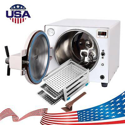 18l Medical Autoclave Steam Sterilizer Sterilization Dental Lab Equipment Fda Ce