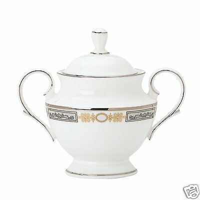 Lenox Antiquity Sugar Bowl NEW 806585 Accented with 24-karat gold and platinum