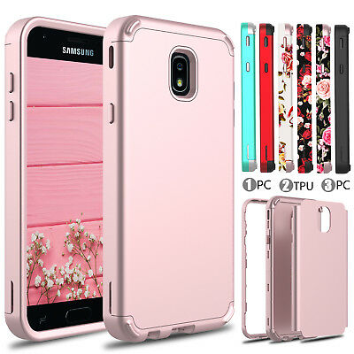 For Samsung Galaxy J7 V 2018/Crown /Star /Refine /Hybrid Luxury Armor Case Cover