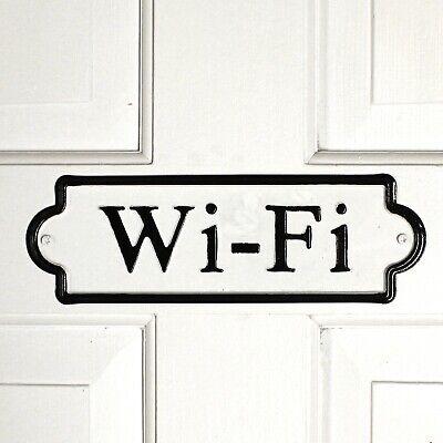 Wifi Door Or Wall Metal Tin Sign 10 Length