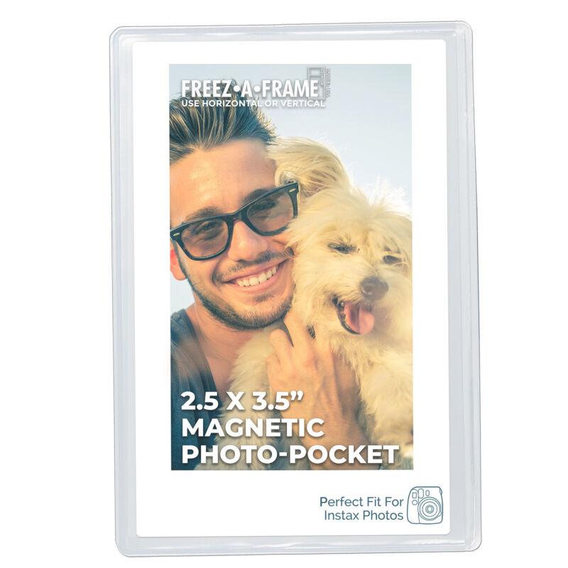 New Freez A Frame Magnetic Photo Pocket Wallet Size 2.5 x3 .5