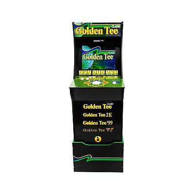 NEW - Arcade1Up Golden Tee With Riser and Light Up Marquee