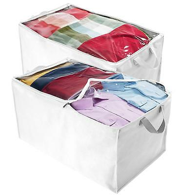 Jumbo Comforter - Jumbo Blanket, Storage Bags with Zipper, Comforter Underbed Closet Soft Storage