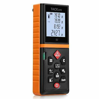 Tacklife Advanced Laser Measure 131 Ft Digital Laser Distance Meter With Mute Fu
