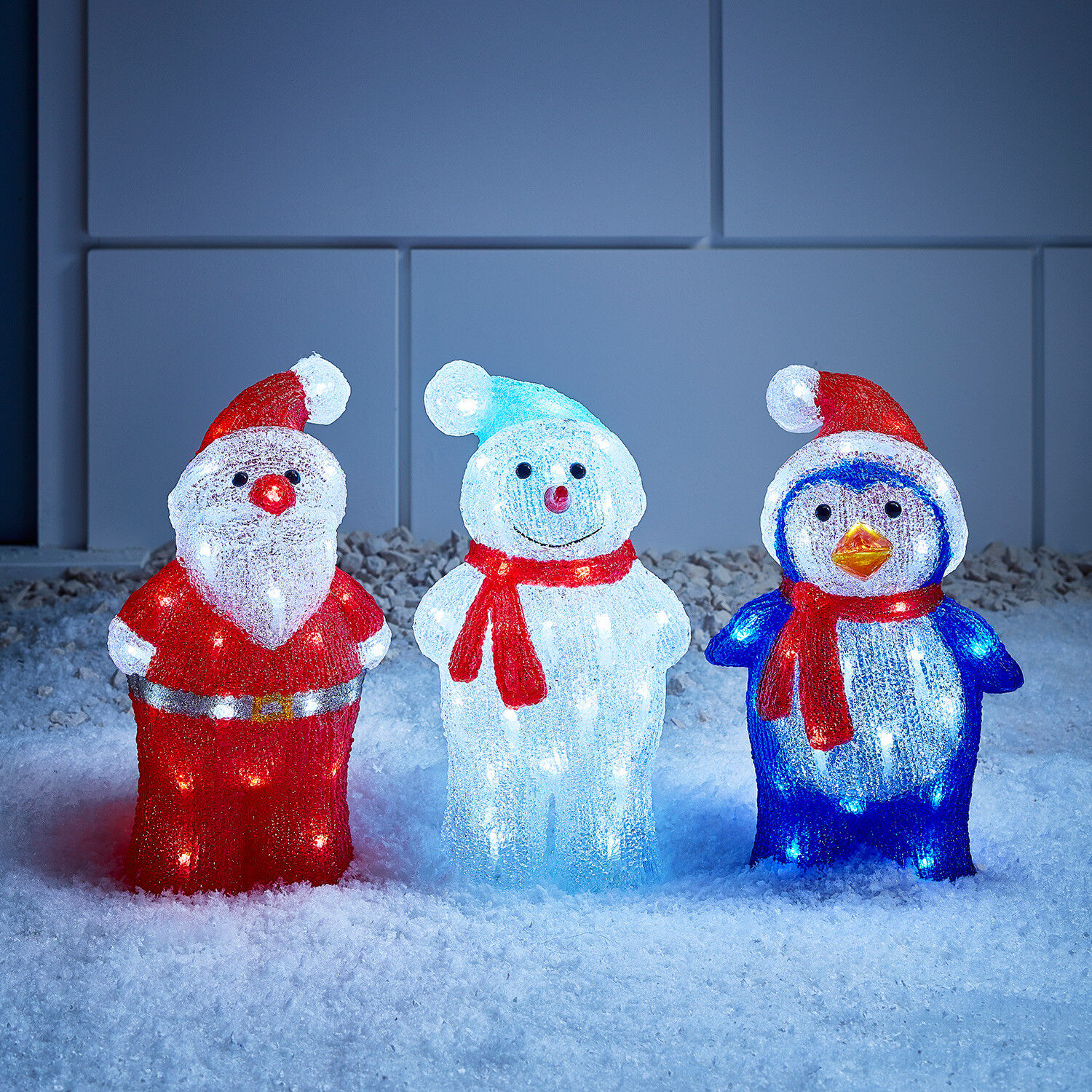 Enhance Your Home S Holiday Cheer With Colorful Snowman Light Covers Designed To Cover Porch Garage And Deck Outdoor Lighting