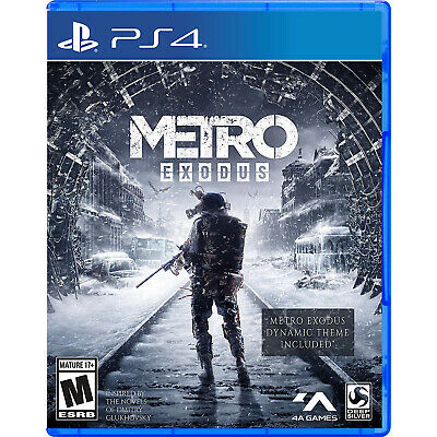 Metro Exodus PS4 [Factory Refurbished]