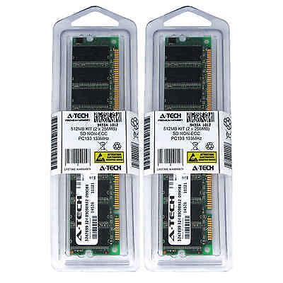 512MB KIT 2 x 256MB DIMM SD NON-ECC PC133 133 133MHz 133 MHz SDRam Ram (512 Mb Sdram Kit)