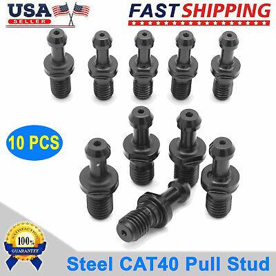 10 Pcs Cat40 Pull Stud Retention Knob Fits Any Haas Cat 40 Cnc Drill New