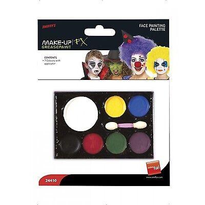 Halloween Makeup Face Paint Assortment Variety Pack Pallet Palette Multi-Color](Halloween Face Paint Makeup)