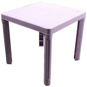 enfant enfants violet plastique table childrens home furniture lecture tude bureau cadeau ebay. Black Bedroom Furniture Sets. Home Design Ideas