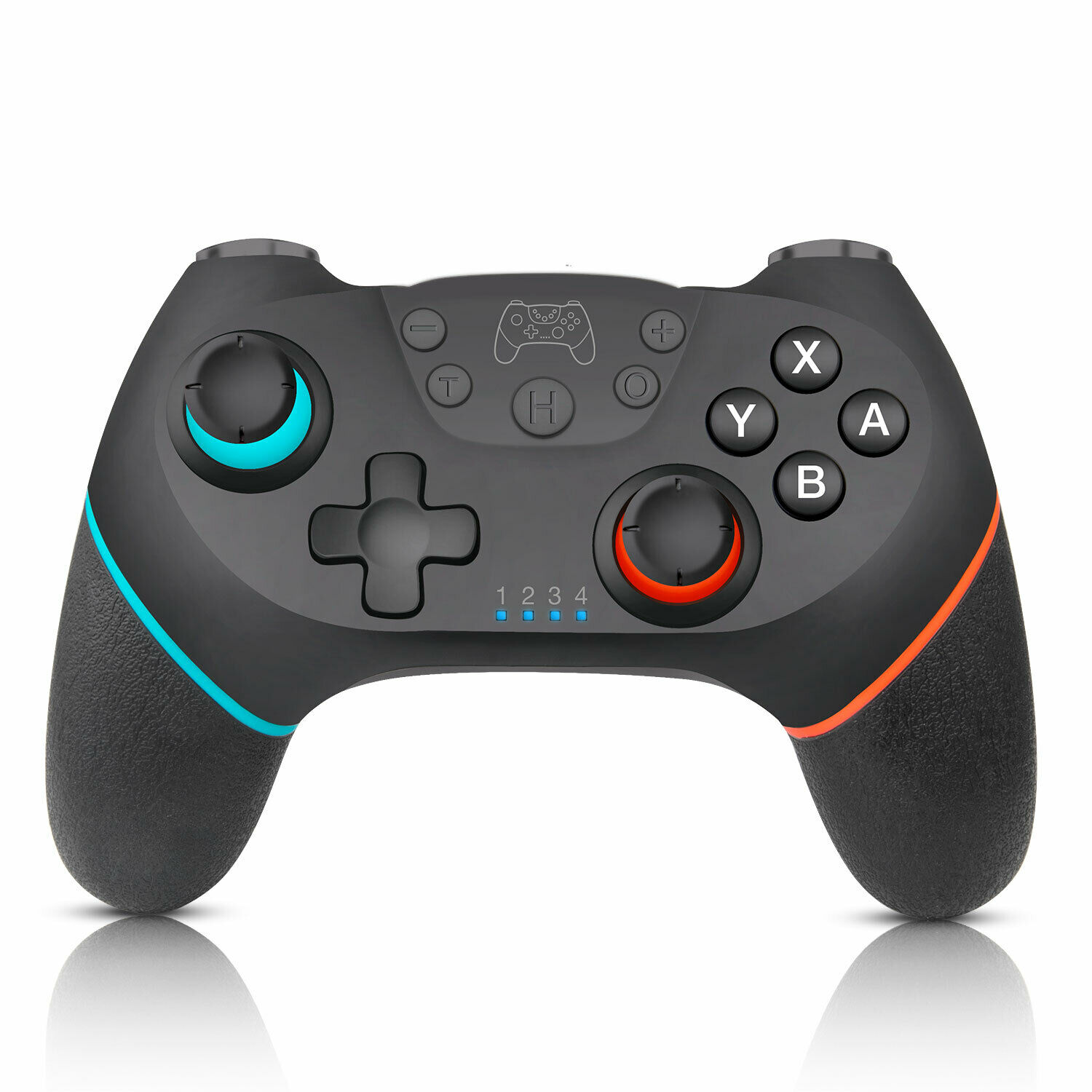 Black Wireless Pro Controller Gamepad Joypad Remote for Nint