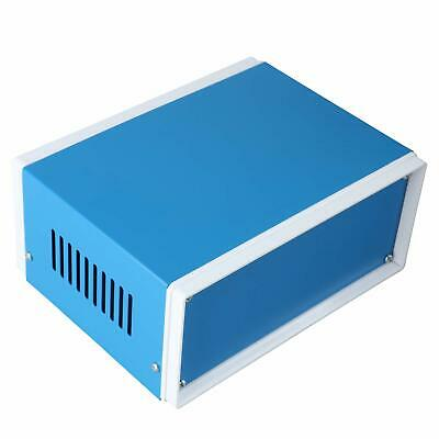 Rectangle Project Enclosure Case Electric Junction Box Blue 6.4 X 4.3 X 2.7