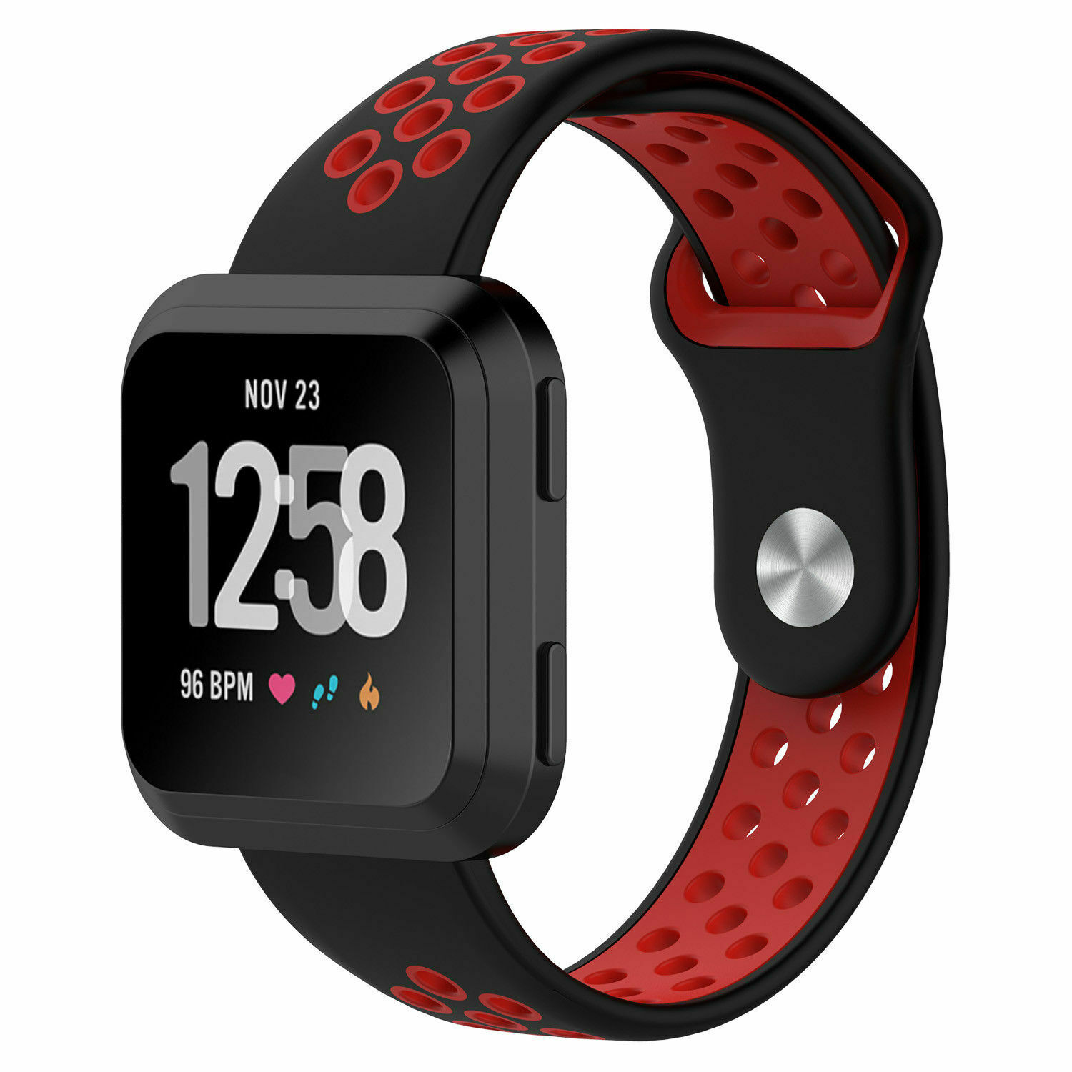 Sport Silicon Replacement Wristband Strap Breathable Watch Band For Fitbit Versa 9
