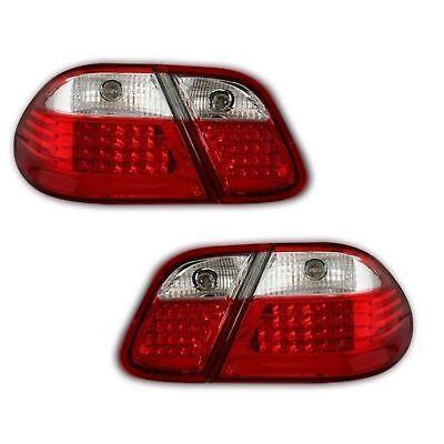 2 Rückleuchten LED Mercedes CLK A208 W208 03/1997 A 04/2002 Weiß Rot