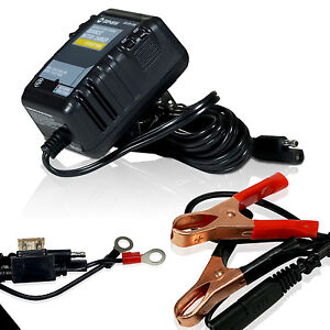 12 volt auto battery charger automatic battery float charger 12 volt trickle car boat motorcycle auto charger