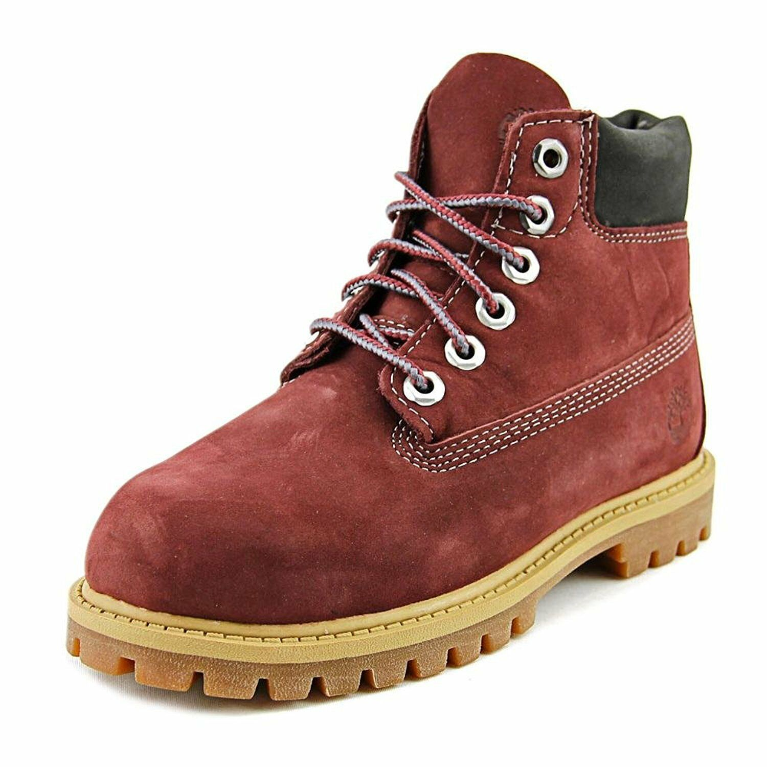 Timberland Toddlers 6 Inch Premium Waterproof Boot Dark Port Nubuck A1BCX