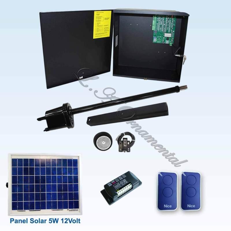 Apollo 1550 Etl Gate Opener Kit 3 Swing Smart Residential Solar Operator System