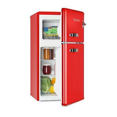 Frigorífico Combinado Nevera 61L Freezer Congelador 24L Frigorífico Eco Rojo