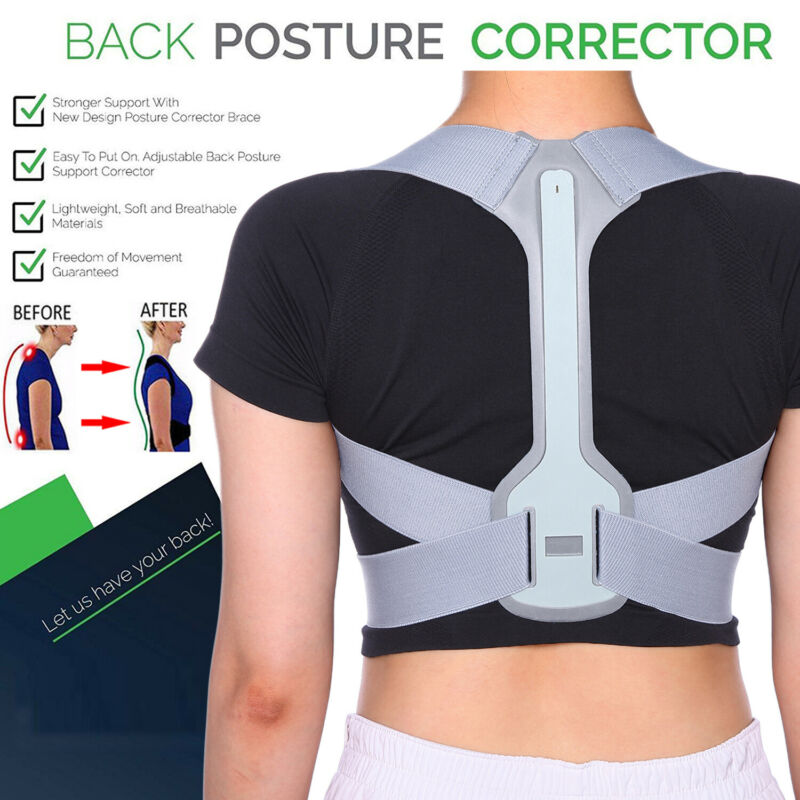 Back Posture Corrector Straight Support Belt Therapy