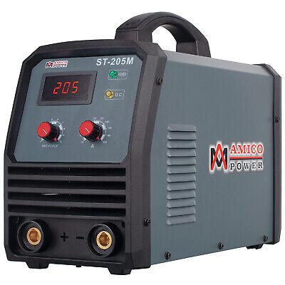 St-205m 205 Amp Stick Arc Dc Welder 100v-250v Wide Voltage Welding Machine New