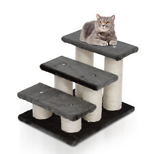 3 Tier Pet Stairs Cat Dog Climber Scatching Post