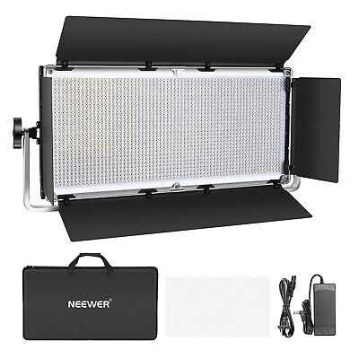 Neewer Dimmable 1904 LED Video Light Photography LED Lighting with Metal Frame
