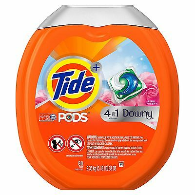 Tide Pods With Downy April Fresh  80 Ct