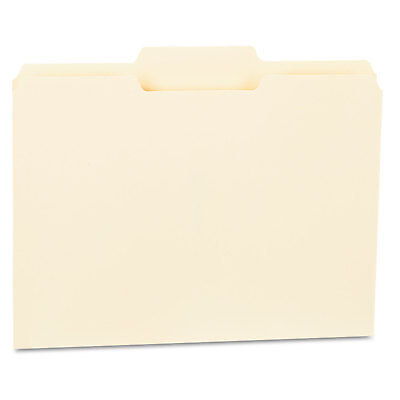 Universal File Folders 13 Cut Second Position One-ply Top Tab Letter Manila 100