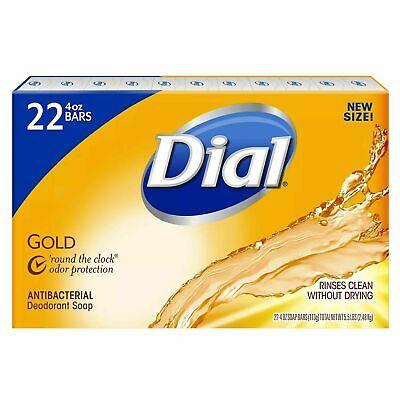 Dial Gold Antibacterial 4oz Deodorant Soap - 22 Count