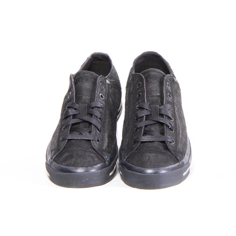 b623af4c65f3 Diesel Men s Shoes Exposure Low Canvas Sneakers Black Y00321 P1049 T8013  фото