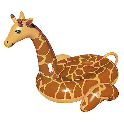 Swimline Giant Inflatable April The Giraffe Ride-On Swimming Pool Float | 90710